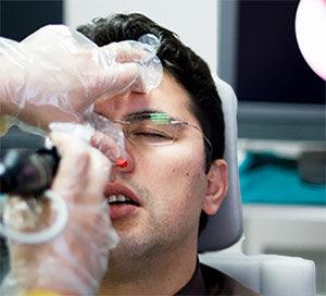 Rinomanometria con test di decongestione nasale